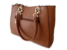 ORDER BY REQUEST - DESIGNER STYLE TAN MULTI-COMPARTMENT CHAIN HANDBAG WITH STRAP