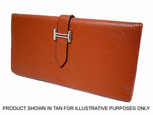 ORDER BY REQUEST - DESIGNER STYLE GENUINE LEATHER PURSE - BLACK