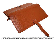DESIGNER STYLE GENUINE LEATHER PURSE - BEIGE