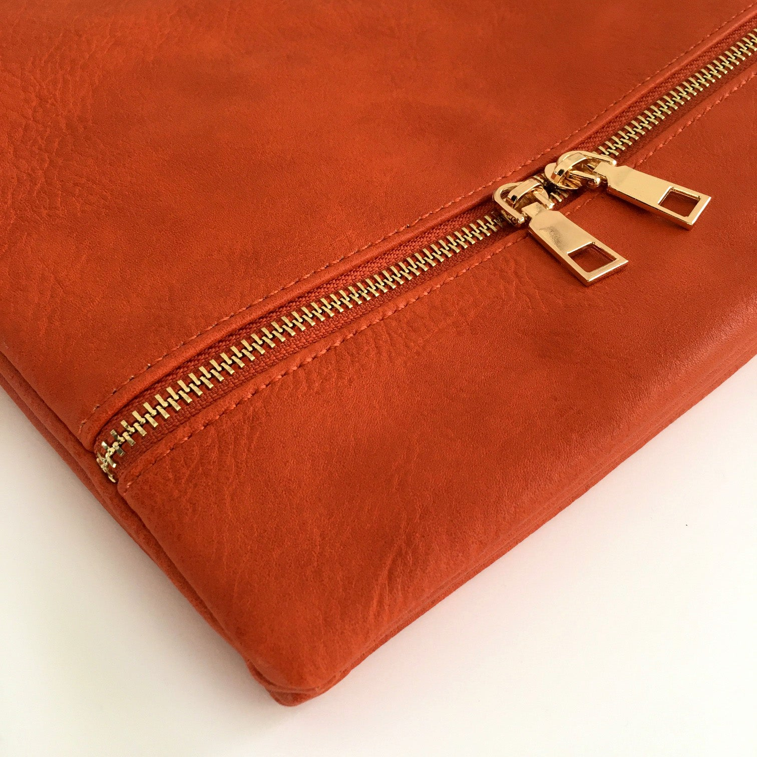 A-SHU ORANGE MULTI COMPARTMENT OVER SHOULDER CROSS BODY BAG - A-SHU.CO.UK