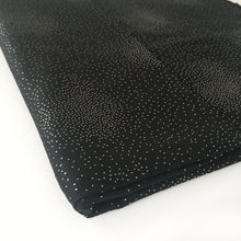 A-SHU LARGE BLACK CASHMERE MIX SUPER SOFT PASHMINA SHAWL SCARF WITH METALLIC FOIL - A-SHU.CO.UK