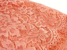 LARGE BLUSH PINK LACE DETAIL LIGHTWEIGHT SCARF