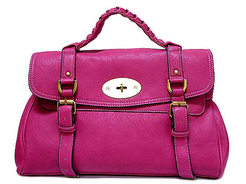 ORDER BY REQUEST - LIGHT PURPLE SATCHEL HANDBAG WITH LONG SHOULDER STRAP