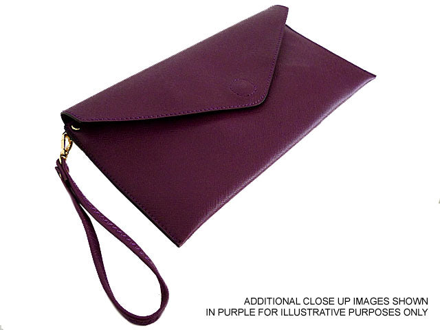 A-SHU PINK OVER-SIZED ENVELOPE CLUTCH BAG WITH LONG CROSS BODY AND WRISTLET STRAPS - A-SHU.CO.UK