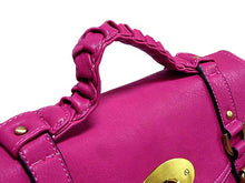 A-SHU ORDER BY REQUEST - LIGHT PURPLE SATCHEL HANDBAG WITH LONG SHOULDER STRAP - A-SHU.CO.UK