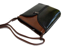 ORDER BY REQUEST - SMALL BLACK LEATHER EFFECT CROSS-BODY SHOULDER BAG
