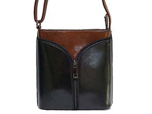 A-SHU ORDER BY REQUEST - SMALL BLACK LEATHER EFFECT CROSS-BODY SHOULDER BAG - A-SHU.CO.UK