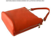 A-SHU SMALL TAN GENUINE ITALIAN LEATHER SHOULDER HANDBAG WITH CROSS BODY STRAP - A-SHU.CO.UK
