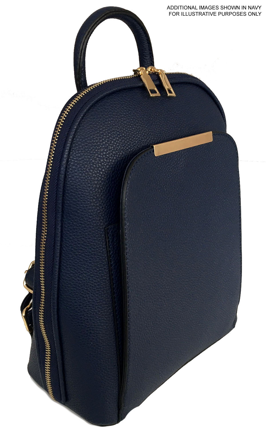 A-SHU SMALL MULTI COMPARTMENT CROSS BODY BACKPACK WITH TOP HANDLE - MUSTARD YELLOW - A-SHU.CO.UK
