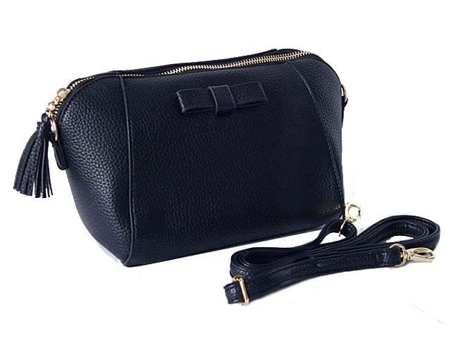 A-SHU SMALL NAVY BLUE CROSS-BODY SHOULDER BAG WITH LONG STRAP - A-SHU.CO.UK