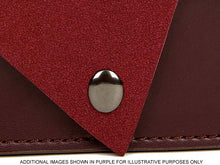 A-SHU TWO-TONE FAUX SUEDE A-LINE CLUTCH BAG WITH LONG SHOULDER STRAP - TAUPE - A-SHU.CO.UK