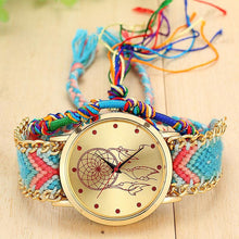 A-SHU HANDMADE NATIVE AMERICAN QUARTZ DREAMCATCHER FRIENDSHIP WATCH - STYLE 1 - A-SHU.CO.UK