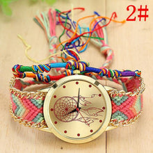 A-SHU HANDMADE NATIVE AMERICAN QUARTZ DREAMCATCHER FRIENDSHIP WATCH - STYLE 2 - A-SHU.CO.UK