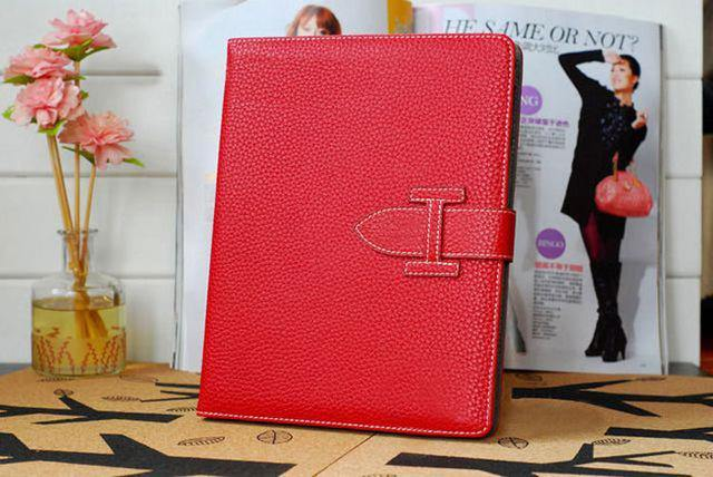 A-SHU DESIGNER STYLE RED APPLE IPAD AIR 1 & 2 SMART TABLET PROTECTIVE FLIP CASE - A-SHU.CO.UK