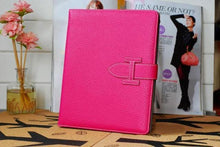 A-SHU DESIGNER STYLE PINK APPLE IPAD AIR 1 & 2 SMART TABLET PROTECTIVE FLIP CASE - A-SHU.CO.UK