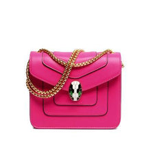 RED EMBELLISHED CLASP CROSS-BODY BAG WITH LONG CHAIN STRAP