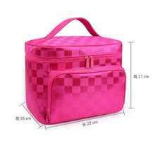 A-SHU LARGE BRIGHT PINK HOLOGRAM COSMETIC MAKE UP BAG ORGANISER / TOILETRY TRAVEL BAG - A-SHU.CO.UK