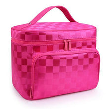 A-SHU LARGE PINK HOLOGRAM COSMETIC MAKE UP BAG ORGANISER / TOILETRY TRAVEL BAG - A-SHU.CO.UK