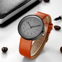 SILVER GREY LUXE DESIGN QUARTZ MOVEMENT WATCH