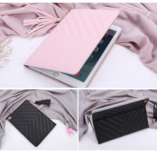 PINK TASSEL DESIGN SMART TABLET CASE FOR APPLE IPAD MINI 1 2 3 OR APPLE IPAD AIR 1 2