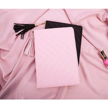 A-SHU PINK TASSEL DESIGN SMART TABLET CASE FOR APPLE IPAD MINI 1 2 3 OR APPLE IPAD AIR 1 2 - A-SHU.CO.UK