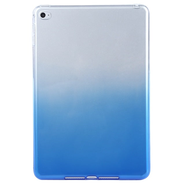 A-SHU BLUE GRADIENT COLOUR APPLE IPAD MINI 4 SMART TABLET PROTECTIVE CASE - A-SHU.CO.UK