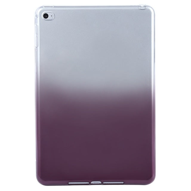A-SHU BLACK GRADIENT COLOUR APPLE IPAD MINI 4 SMART TABLET PROTECTIVE CASE - A-SHU.CO.UK
