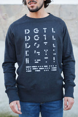 Sweater unisex Anthracite
