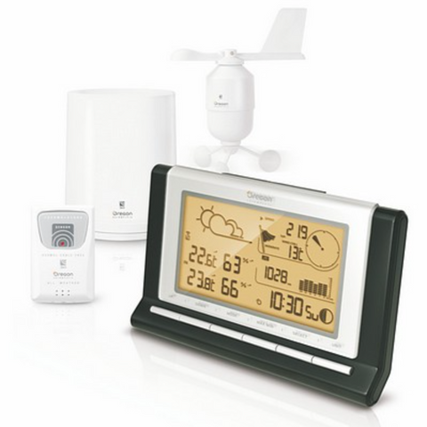 Oregon Full Weather Station w/USB & 7 Day Data-gadget-Adventure Playground