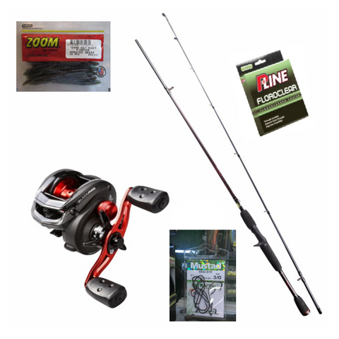 Abu Garcia Bass Casting Combo-fishing-Adventure Playground