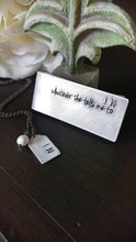 I Do His & Hers Custom Hand Stamped Wedding Memories Necklace And Money Clip Set by MyBella