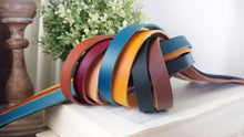 Custom Hand Cut Leather Strap Add On for Leather and Washer Wrap Bracelets by MyBella