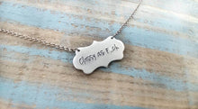 Classy As F*ck Adult Humor Custom Hand Stamped Aluminum Suspended Pendant Necklace by MyBella
