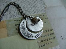I love you to the Moon & Back All Aluminum - by MyBella