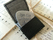 Love like Johnny & June - Custom Hand Stamped Guitar Pick by MyBella