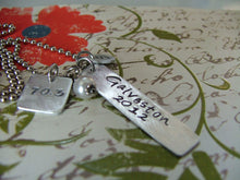 We've Got A Runner - Custom Hand Stamped Runners Marathon Triathlon Athlete Necklace by MyBella