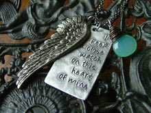 I Keep A Close Watch On This Heart Of Mine Custom Hand Stamped Necklace MyBella Limited Edition Item