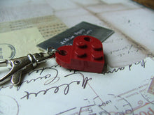 Lego Lover's Custom Hand Stamped Aluminum Bag Tag with Swivel Clip by MyBella