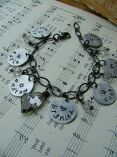 This Charming Heart Custom Hand Stamped Mother's/Grandmother's with Your Choice of How Many Name Tags Bracelet by MyBella