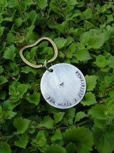 You Made A Difference Custom Hand Stamped Teacher Appreciation Teachers Thank You Key Chain Brass Apple Collection by MyBella