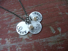 My Simple Gifts Custom Hand Stamped Aluminum  And Freshwater Pearl Mommy Necklace by MyBella