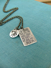 So there's this boy, he kinda stole my heart...he calls me MOM Custom Hand Stamped Mommy Necklace by MyBella