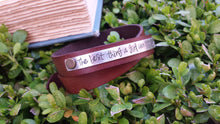 Mature Warning The Best Thing A Girl Can Have Is Her Sh*t Together Custom Hand Stamped Continuous Double Wrap Cuff Bracet by MyBella
