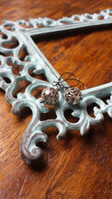 Antique Silver Open Bali Drop Round Metal Wire Wrapped Earrings by MyBella