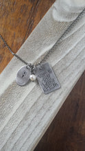 My Story Is Still Being Written Custom Hand Stamped Make It Personal Necklace with Semicolon Symbol by MyBella