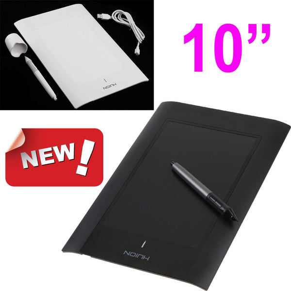 "Brand New 10"" Art Graphics Drawing Tablet Cordless Digital Pen for PC Laptop-Justt Click"