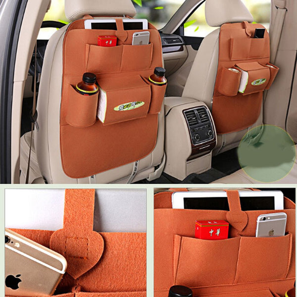 1Fashion Car Back Seat Organizer Holder Ceiling Multifunction Travel Storage-Justt Click