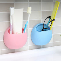2017 Newest Toothbrush Holder Bathroom Kitchen Toothbrush Suction Cups Wall Stand - Justt Click