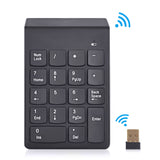 2.4G USB Numeric Keypad 18Keys Wireless Keyboard Mini Digital Keyboard - Justt Click