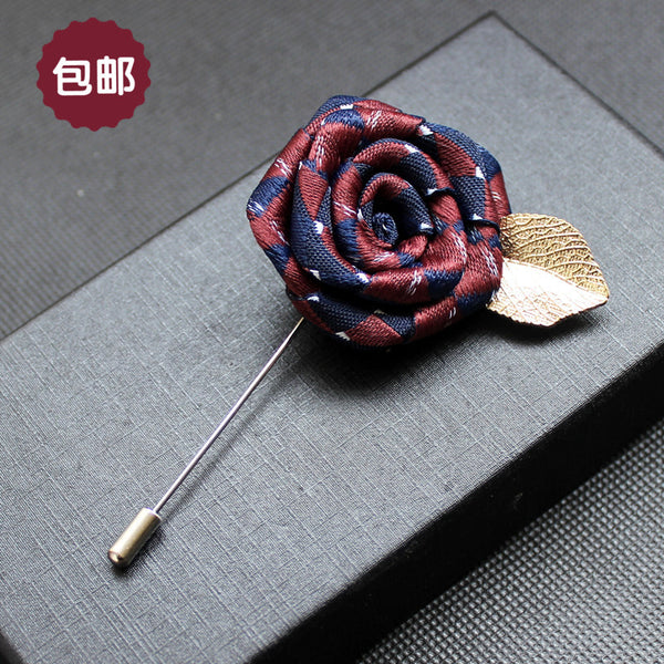 Hand Made Lapel Flower Accessories for Wedding-Justt Click